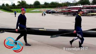 Сup of brothers Ageev 2017 kayak Canoe байдарка каноэ