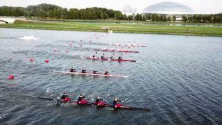 Championship of Russia 2017 september 4 Kayak Canoe K4 C2 W
