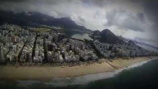 Rio Flyover: Ipanema, Copacabana, Lagoa