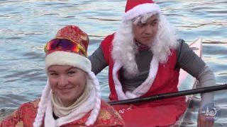 Canoe Sprint Christmas training HD