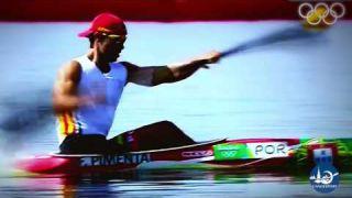 Fernando Pimenta canoe sprint athlete!
