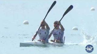 Gabriella Szabo and Danuta Kozak - Canoe Sprint Athletes