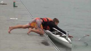 Canoe marathon fail