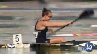 Lisa Carrington Canoe Sprint Athlete Technique