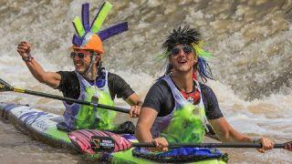Canoe marathon funny moments