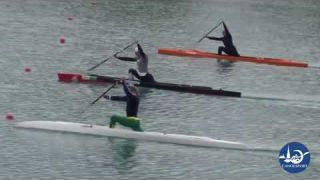 Vadim Korobov and Henrikas Zustautas - Canoe Sprint training