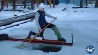 Winter Canoe Sprint Ergometer