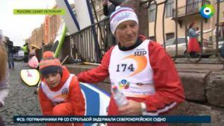 Каналы Петербурга покорили серферы